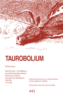 Taurobolium Poster with Remington Image